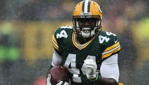 James Starks gelangen in sieben Jahren 2.506 Rushing- und 1.017 Receiving-Yards für Green Bay