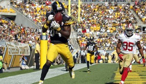 20.: Antonio Brown, WR, Pittsburgh Steelers