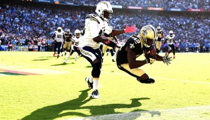 19. Michael Thomas, New Orleans Saints: Sensationelle Rookie-Saison: 1.137 Yards, 9 TDs, 92 Receptions: Thomas hatte die zehntmeisten Yards nach dem Catch, glänzt schon jetzt in der Nähe der Line sowie bei langen Pässen