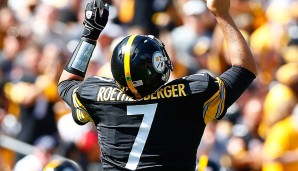 QUARTERBACKS: 5. Ben Roethlisberger, Pittsburgh Steelers: Overall Rating: 91 - Awareness: 90 - Speed: 74 - Beschleunigung: 73 - Stärke: 82