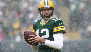 2. Aaron Rodgers, Green Bay Packers: Overall Rating: 98 - Awareness: 97 - Speed: 79 - Beschleunigung: 82 - Stärke: 58