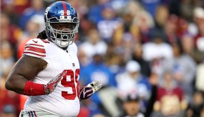 DEFENSIVE TACKLES: 5.: Damon Harrison, New York Giants: Overall Rating: 89 - Awareness: 95 - Geschwindigkeit: 54 - Beschleunigung: 76 - Beweglichkeit: 64 - Stärke: 93