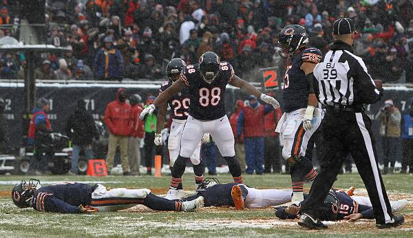 Platz 7 - Chicago Bears: 59.300.002 Dollar.