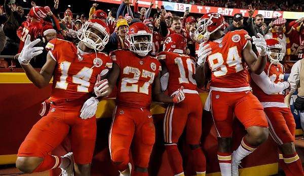 Platz 20 - Kansas City Chiefs: 27.153.833 Dollar.