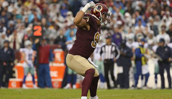 Platz 13 - Washington Redskins: 29.273.697 Dollar.