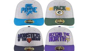 NFC NORTH: Detroit Lions, Green Bay Packers, Chicago Bears, Minnesota Vikings.