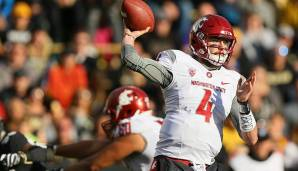 9. Luke Falk, Washington State: 543 Pässe, 3.593 Yards (6,7 Yards/Pass), 66,9% angekommene Pässe, 30 Touchdowns, 13 Interceptions.