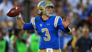 6. Josh Rosen, UCLA: 452 Pässe, 3.756 Yards (8,3 Yards/Pass), 62,6% angekommene Pässe, 26 Touchdowns, 10 Interceptions.