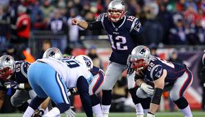 Tom Brady und die New England Patriots müssen in Week 10 nach Tennessee.