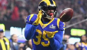 C. J. Anderson, Running Back. Alter: 28. NFL-Saisons absolviert: 6. Letztes Team: Los Angeles Rams.