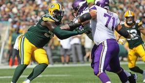 Muhammad Wilkerson, Defensive Tackle. Alter: 29. NFL-Saisons absolviert: 8. Letztes Team: Green Bay Packers.
