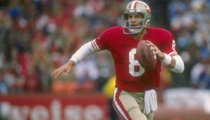 8: Steve Young (1985-1999): Tampa Bay Buccaneers, San Francisco 49ers). Auch stark: Troy Aikman, Mark Brunell, Matt Hasselbeck.
