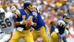 14: Dan Fouts (1973-1987): San Diego Chargers. Auch stark: Ken Anderson.