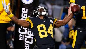 Antonio Brown wechselte von den Pittsburgh Steelers zu den Oakland Raiders.