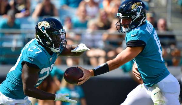 Running Backs, START: Leonard Fournette, Jaguars (@Bengals): Fournette hat die Touches, Fournette hat die Yards. Was er nicht hat: Touchdowns. Da kommen die Bengals aber gerade Recht. In sechs Wochen ließ Cincy sieben TD-Runs von Running Backs zu.