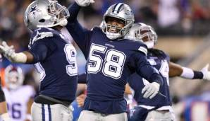Die Dallas Cowboys gewannen bei den New York Giants.