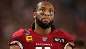 Larry Fitzgerald war 2004 von den Arizona Cardinals gedraftet worden.