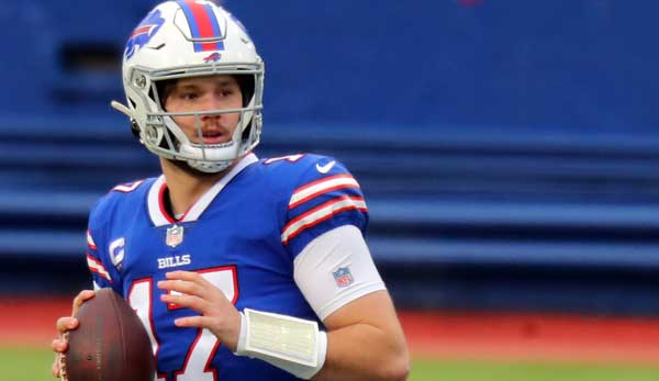 Bills-Quarterback Josh Allen warf in der Regular Season starke 37 Touchdowns und nur 10 Interceptions.