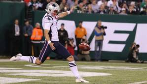 PUNTER: Jake Bailey (New England Patriots)