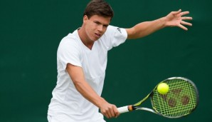 Daniel Altmaier (GER) Junior Boys  Tennis - Wimbledon 2016 - Grand Slam ITF / ATP / WTA -  AELTC - London -  - Great Britain  - 3 July 2016.