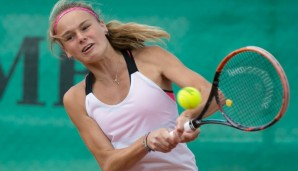 Tennis Europe-Bavarian Junior Open, Anja Wildgruber (GER) GS14  Tennis - Bavarian Junior Open 2016 - Tennis Europe Junior Tour -  SC Eching - Eching - Bayern - Germany  - 11 August 2016.  © Juergen Hasenkopf