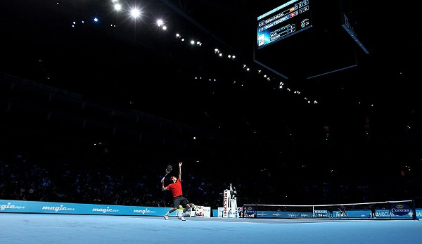 2010 bei den ATP World Tour Finals - Sieger: Federer (6:3, 3:6, 6:1)