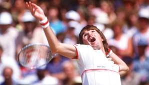 Platz 1: Jimmy Connors (USA), 109 Turniersiege.