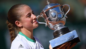 Jelena Ostapenko krönte sich in Paris zur Siegerin der French Open 2017
