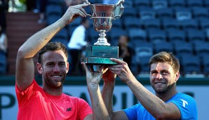 Ryan Harrison und Michael Venus, Doppel-Champions in Paris