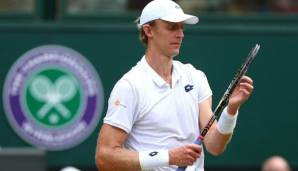 Kevin Anderson in Wimbledon
