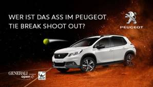 Mitmachen beim Peugeot Tie Break Shoot Out